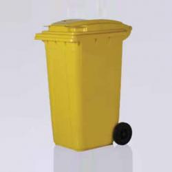 Vale Group - 120 Litre Sarı Konteyner