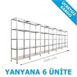 Vale Group - Çelik Arşiv Rafı 31x360x200 5Katlı