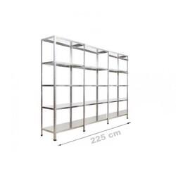 Vale Group - Çelik Depo Raf 43x225x200 5 Katlı