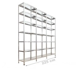 Vale Group - Çelik Depo Raf 43x225x250 7 Katlı