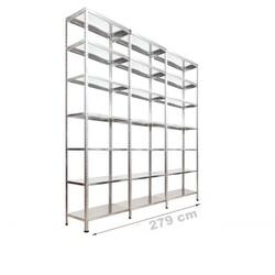 Vale Group - Çelik Depo Raf 43x279x250 7 Katlı