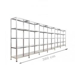Vale Group - Çelik Depo Raf 43x360x200 5 Katlı