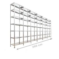 Vale Group - Çelik Depo Raf 43x360x250 7 Katlı
