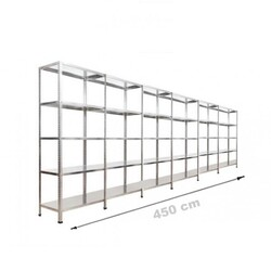 Vale Group - Çelik Depo Raf 43x450x200 5 Katlı