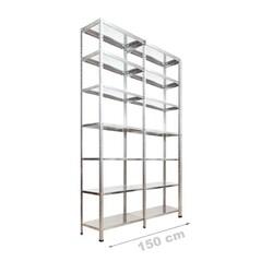 Vale Group - Çelik Raf 2'li 43x150x250 7 Katlı