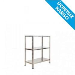 Çelik Raf - Çelik Raf 31x93x100cm 3 Katlı