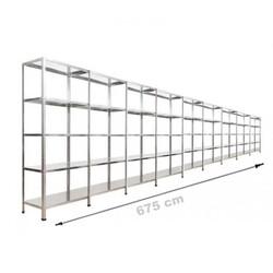 Vale Group - Çelik Raf 43x675x200 5 Katlı