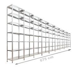 Vale Group - Çelik Raf 43x675x250 7 Katlı