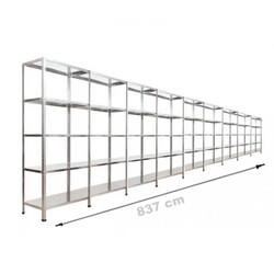 Vale Group - Çelik Raf 43x837x200 5 Katlı