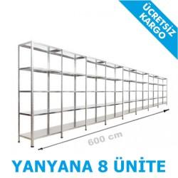 Vale Group - Çelik Raf Ankara 43x600x200 5 Katlı