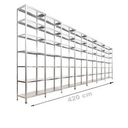 Vale Group - Çelik Raf Fiyatları 31x420x250 7 Katlı