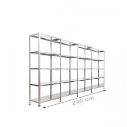 Vale Group - Çelik Raf Sistemi 31x240x200 5 Katlı